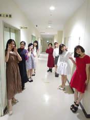 Akiyama Mao,   Eguchi Saya,   Fukumura Mizuki,   Hirai Miyo,   Kitagawa Rio,   Miyamoto Karin,   Uemura Akari,   Yamagishi Riko,
