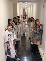 Ikuta Erina,   Inaba Manaka,   Kawamura Ayano,   Matsunaga Riai,   Okamura Minami,   Satoyoshi Utano,   Takeuchi Akari,   Yokoyama Reina,