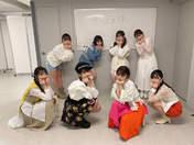 Danbara Ruru,   Funaki Musubu,   Kiyono Momohime,   Miyamoto Karin,   Morito Chisaki,   Niinuma Kisora,   Nishida Shiori,   Okamura Homare,