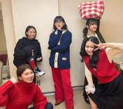 Hashisako Rin,   Kasahara Momona,   Kawamura Ayano,   Sasaki Rikako,   Takeuchi Akari,