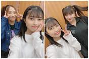 Haga Akane,   Nishida Shiori,   Oda Sakura,
