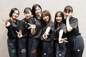 Akiyama Mao,   Hirai Miyo,   Inaba Manaka,   Ishida Ayumi,   Kaga Kaede,   Sasaki Rikako,