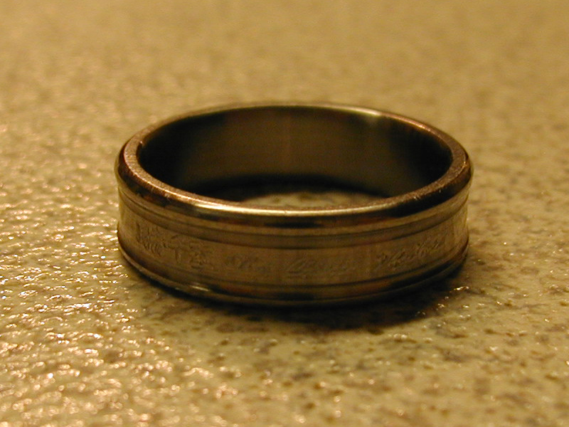 Titanium Ring - Okai Chisato