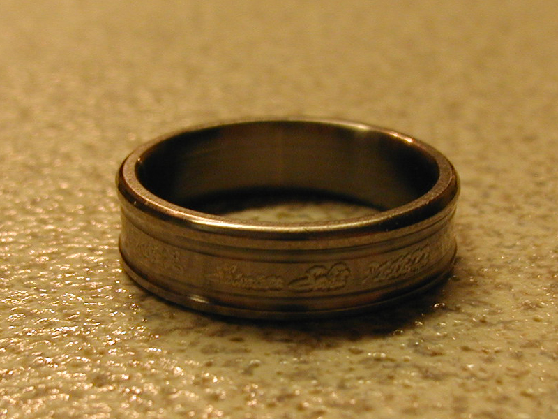 Titanium Ring - Shimizu Saki