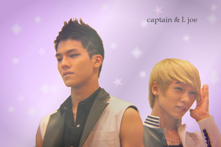 captain and l. joe. oh hot damn. <3