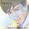 hands up! khunnie with a bubble gun here~!