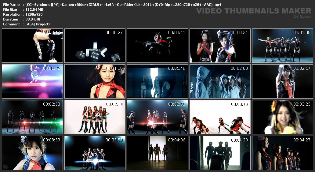 [CG+Syndome][PV]+Kamen+Rider+GIRLS+-+Let's+Go+RiderKick+2011+(DVD-Rip+1280x720+x264+AAC).mp4.jpg