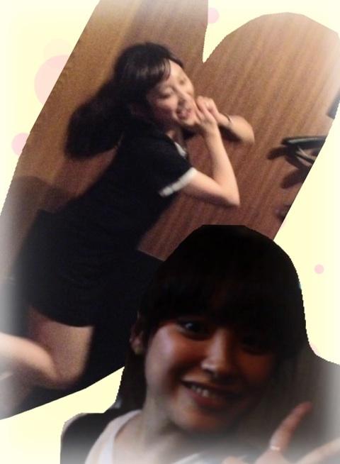 Kamei Eri, Michishige Sayumi & Ai @ Karaoke