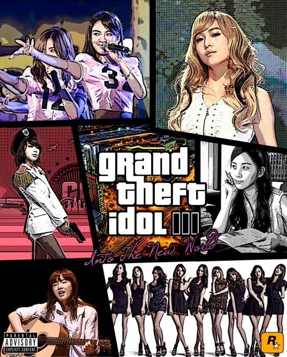 Grand Theft Idol 3 - Into The New World